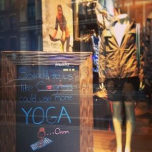 congress needs yoga